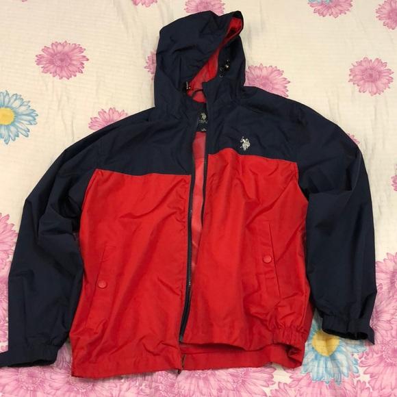 Polo Assn U.S Mens Windbreaker Jacket